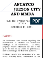 (111) Gancayco vs QC and MMDA