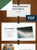 APROXIMACIÓN HISTORICA. PSICOTERAPIA