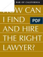 Finding a Lawyer