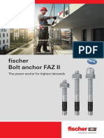 FAZ II - Metal Anchor for Cracked Concrete