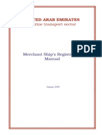 Merchant Ships Registration Manual January 2010
