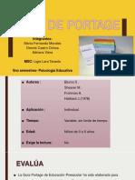 Guía de Portage2018