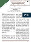 Measurement of Consumer Attitude