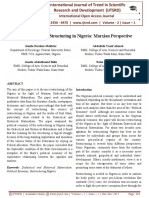 An Evaluation of Structuring in Nigeria