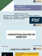Tema 01 Derecho y Constitución