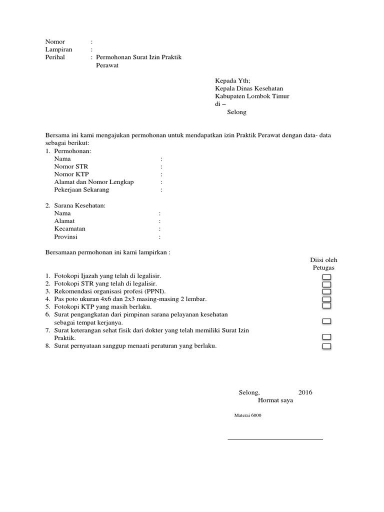 Surat Izin Praktik Perawatdocx