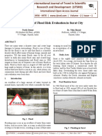 Case Study of Flood Risk Evaluation in Surat City