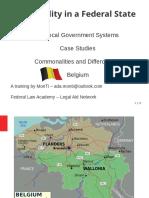 Belgium Local Government Slides