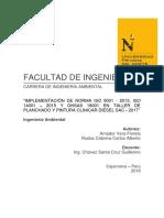 implemetnacion ISO 14001