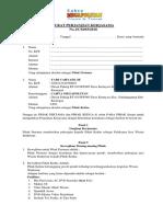 Surat Perjanjian Kerjasama Cm Tour