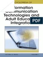 Victor C. X. Wang-Encyclopedia of Information Communication Technologies and Adult Education Integration -Information Science Publishing (2010)
