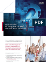 eBook Acts 18thingstoknowaboutmicrosoftteamsfor2018 en US