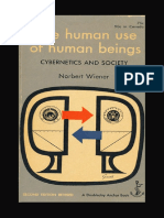 Human use of Human beings by Norbert Wiener [1950].pdf