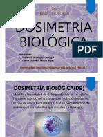 Dosimetria Biologica -Salazar -Amesquita