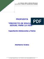 Proyecto Educacion Sexual Para La Vida 3.