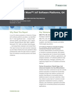 IoT Forrester Wave IoT Software Platforms November 2016
