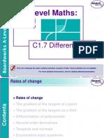 c1 7 Differentiation