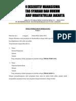 Surat Perjanjian Kerjasama Keislaman-hiqma