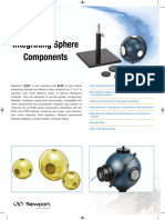 Integrating Spheres Datasheet