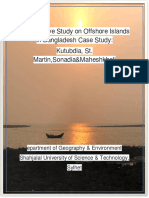 Comparative Study on Offshore Islands in Bangladesh Case Study