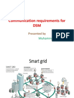 Communication Requirements for DSM