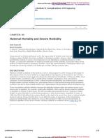 Maternal Mortality and Severe Morbidity(2)