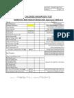 Chloride Migration Coefficient