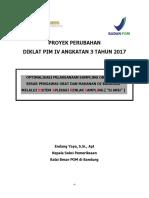 Endang Yaya - Optimalisasi Pelaksanaan Sampling Obat Balai Besar Pengawas Obat Dan Makanan Di Bandung Melalui Sistem Aplikasi Renlak Sampling
