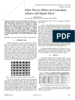 Influence of Fiber Weave Effect on Controlled Impedance and Signal Skew
