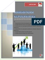 Modul Administrasi Kepegawaian