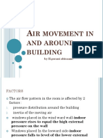 Air Movement in and Around Building