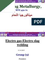 Eelctro Gas-slag W