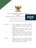PMK No. 40 Ttg Pengembangan Jenjang Karir Profesional Perawat Klinis