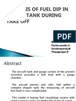 Batch-9 2st Review-Analysis of Fuel Dip in Supply Tank During Take Off