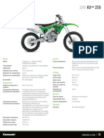 Kawasaki Latin America Specification Sheet