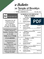 UT Bulletin October 2010