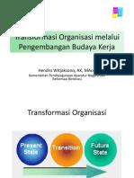 01Transformasi Organisasi Melalui Pembangungan Budaya Kerja