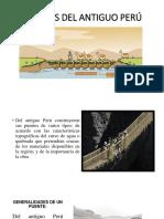 Puentes Del Antiguo Perú Diapos
