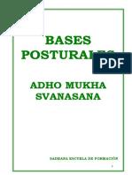 0º Bases Posturales Ado Mukha Svanasana