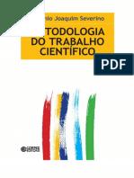 MTC - Metodologia Do Trabalho Científico - 23ª Edição - Severino - EBOOK_Escolhido
