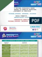 Diagrama Competencias Genericas-Programa Aprender, Emprender, Prosperar