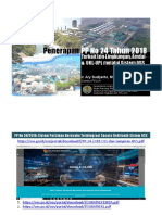 PERTALINDO - Amdal Dan UKL-UPL Serta PP 24 Tahun 2018 OSS- 26 Juli 2018 Final