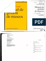 Manual de Gestion de Museos
