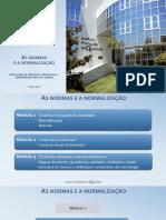 Formação Sobre Normas e Normalização 2018_FCT