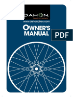 English Owners Manual