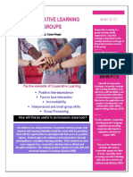 Cooperating Learning Groups Strategy Handout