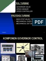Governor steam turbine