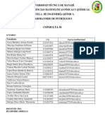 Consulta Petroleos Grupo II