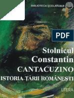 Cantacuzino C-tin - Istoria tarii romanesti (Tabel crono).pdf