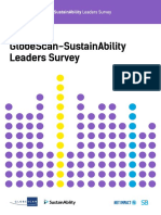 The 2018 GlobeScan/SustainAbility Leaders Survey